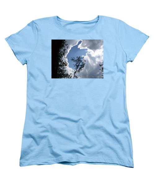 Women's T-Shirt (Standard Cut) featuring the photograph Into The Sky by Aimee L Maher Photography and Art Visit ALMGallerydotcom