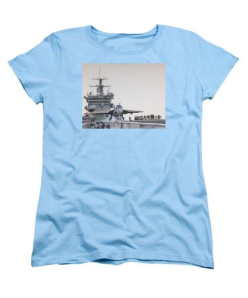 Intruder Women's T-Shirt (Standard Cut) by Stan Tenney