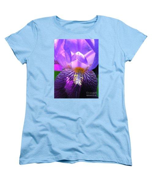 Iris Light Women's T-Shirt (Standard Cut) by Susan  Dimitrakopoulos