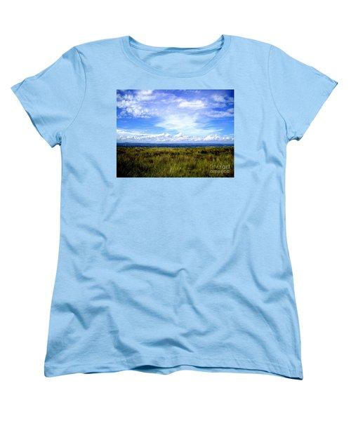 Women's T-Shirt (Standard Cut) featuring the photograph Irish Sky by Nina Ficur Feenan