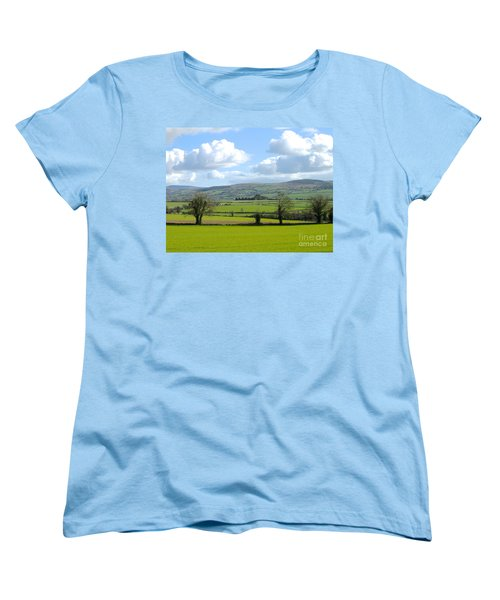 Women's T-Shirt (Standard Cut) featuring the photograph Irish Spring by Suzanne Oesterling