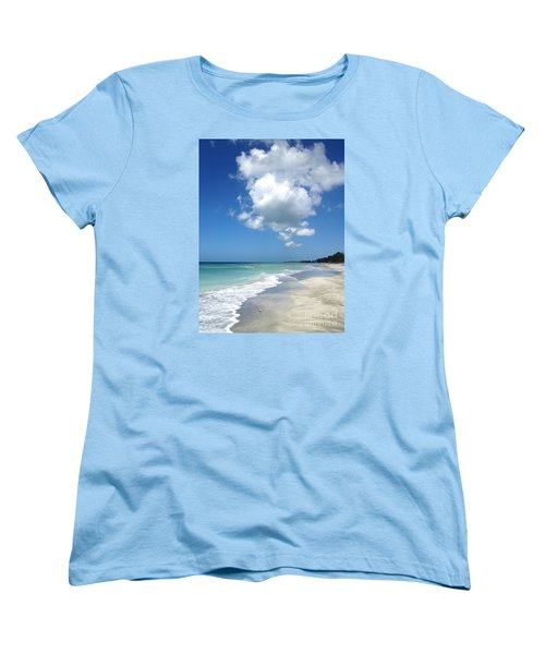 Women's T-Shirt (Standard Cut) featuring the photograph Island Escape  by Margie Amberge