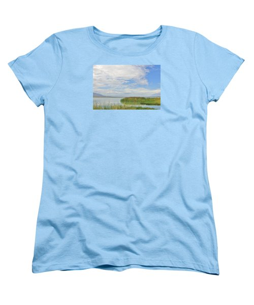 Women's T-Shirt (Standard Cut) featuring the photograph Island Peace by Marilyn Diaz