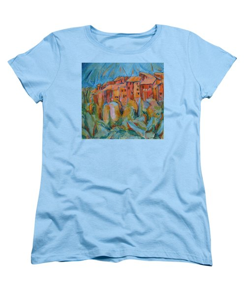 Isola Di Piante Small Italy Women's T-Shirt (Standard Cut)