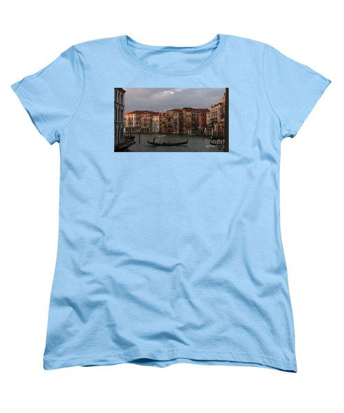Italian Evening Women's T-Shirt (Standard Cut) by Jennifer Wheatley Wolf