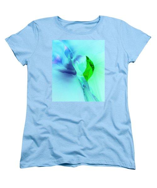 Women's T-Shirt (Standard Cut) featuring the digital art It's A Mystery  by David Lane