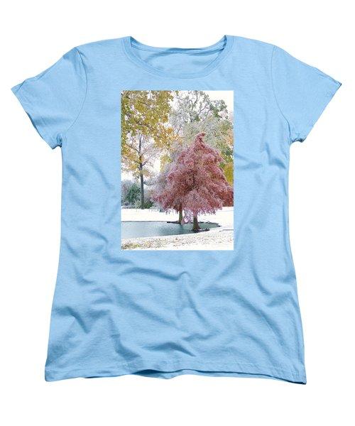 Its Beginning To Look A Lot Like Christmas Women's T-Shirt (Standard Cut) by Robert ONeil