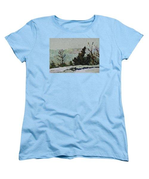 January Grays Women's T-Shirt (Standard Cut) by Phil Chadwick