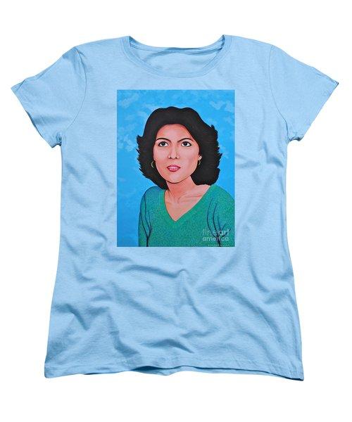 Jasmina Women's T-Shirt (Standard Cut) by Cyril Maza