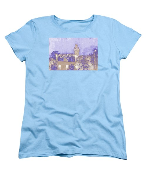 Women's T-Shirt (Standard Cut) featuring the photograph All Saints Day In Lacombe Louisiana by Luana K Perez