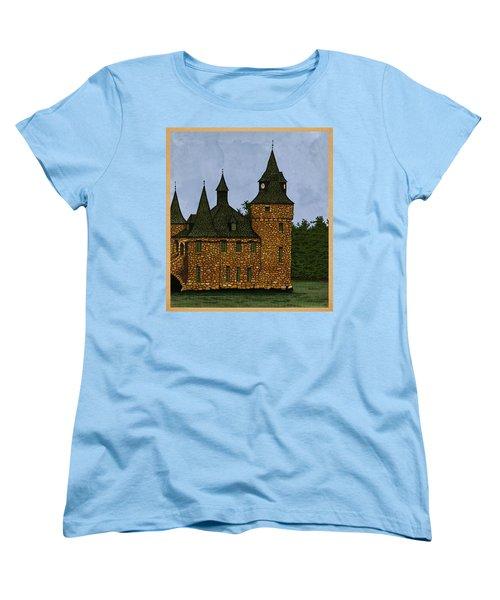 Jethro's Castle Women's T-Shirt (Standard Cut) by Meg Shearer