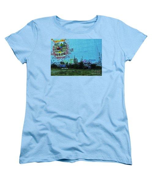 Joga Bonito - The Beautiful Game Women's T-Shirt (Standard Cut) by Andy Prendy
