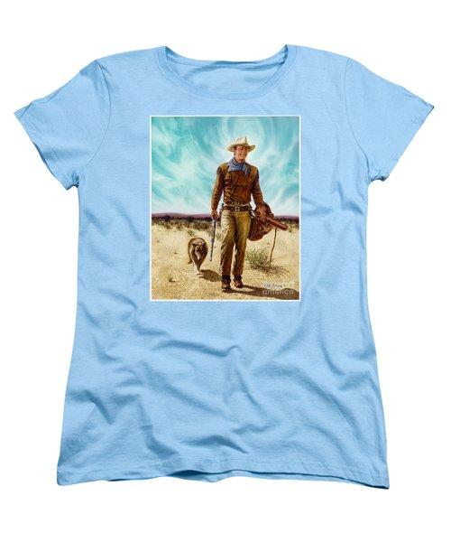 John Wayne Hondo Women's T-Shirt (Standard Cut)