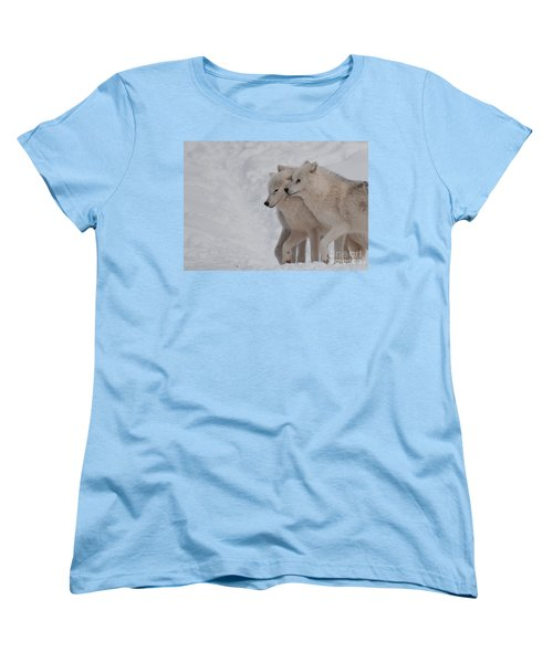 Women's T-Shirt (Standard Cut) featuring the photograph Joined At The Hip by Bianca Nadeau