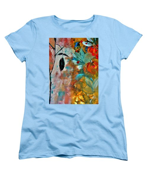 Joy Women's T-Shirt (Standard Cut) by Lisa Kaiser