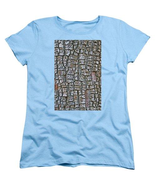 Women's T-Shirt (Standard Cut) featuring the photograph Juniper Bark- Texture Collection by Tom Janca