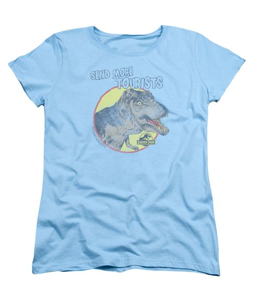 Jurassic Park - More Tourist Women's T-Shirt (Standard Cut) by Brand A