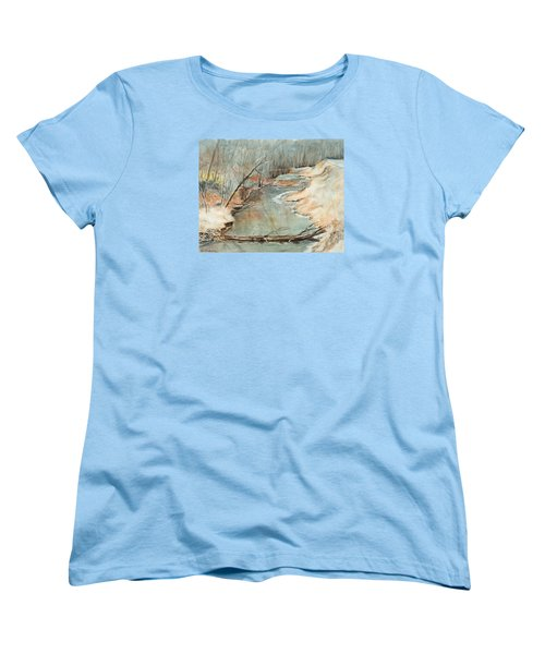 Just Resting Women's T-Shirt (Standard Cut) by Lee Beuther