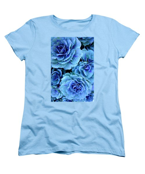 Kale Women's T-Shirt (Standard Cut) by Laurie Perry