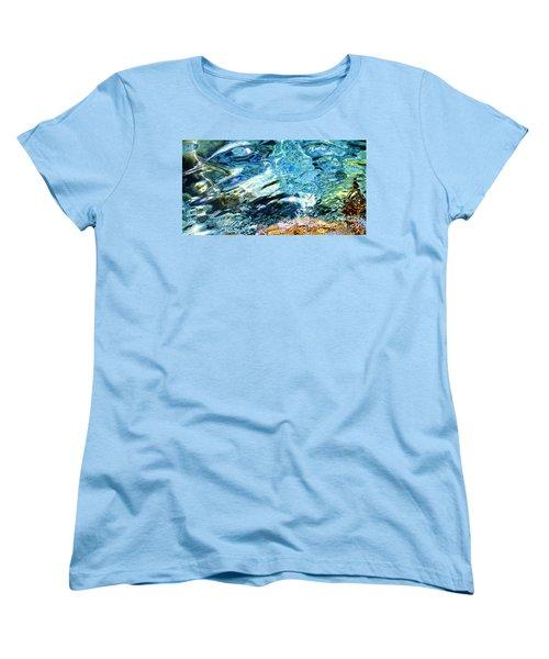 Kanaloa Abstract Women's T-Shirt (Standard Cut) by David Lawson
