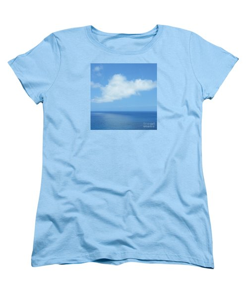 Women's T-Shirt (Standard Cut) featuring the photograph Kauai Blue by Joseph J Stevens