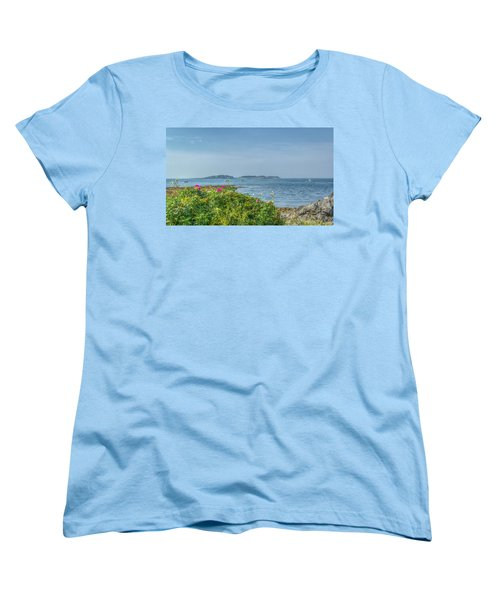 Women's T-Shirt (Standard Cut) featuring the photograph Kettle Cove by Jane Luxton