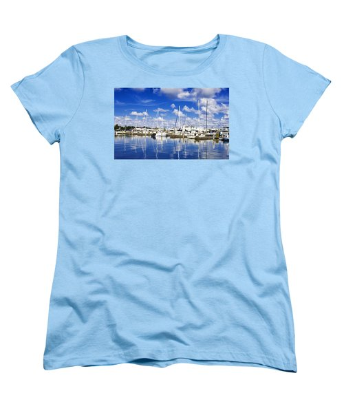 Key West Women's T-Shirt (Standard Cut) by Swank Photography