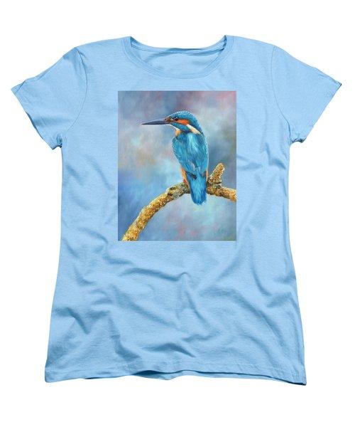 Kingfisher Women's T-Shirt (Standard Cut)