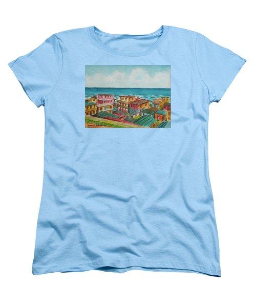 La Perla San Juan Pr Women's T-Shirt (Standard Cut) by Frank Hunter