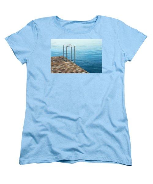 Ladder Women's T-Shirt (Standard Cut) by Chevy Fleet