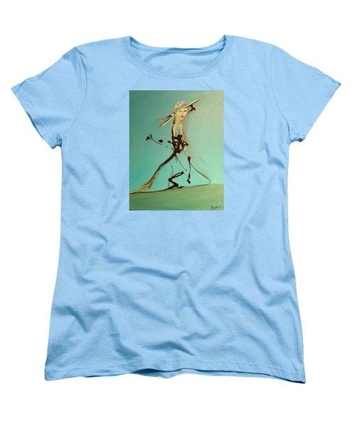 Lady In The Hat Women's T-Shirt (Standard Cut)