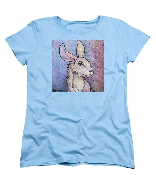 Lagos The Noble Hare Women's T-Shirt (Standard Cut) by Karon Melillo DeVega