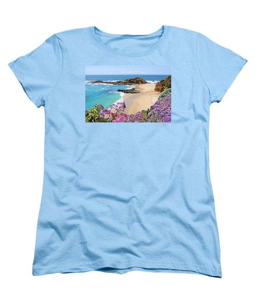 Laguna Beach Coastline Women's T-Shirt (Standard Cut)