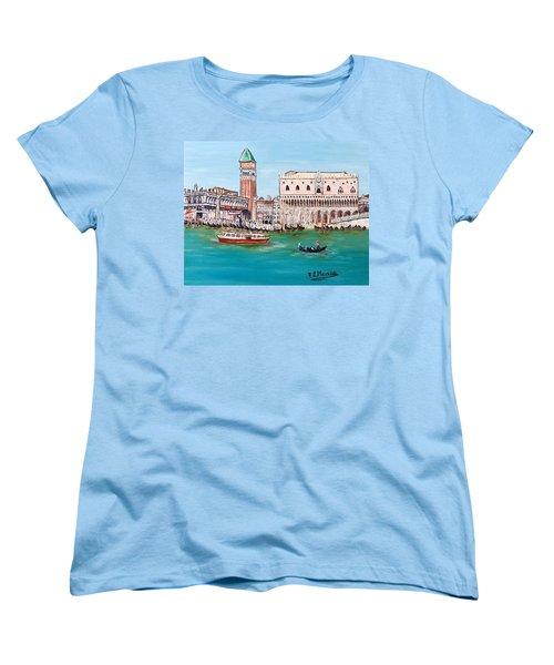 Laguna Women's T-Shirt (Standard Cut) by Loredana Messina