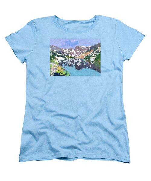 Lake Isabelle Colorado Women's T-Shirt (Standard Cut) by Dan Miller