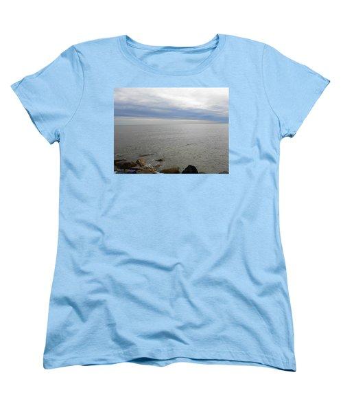 Lake Michigan 3 Women's T-Shirt (Standard Cut) by Verana Stark