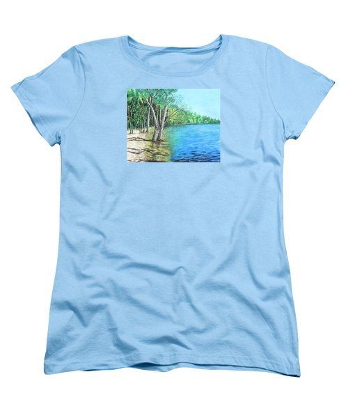 Lakeland 2 Women's T-Shirt (Standard Cut) by Jeanne Fischer
