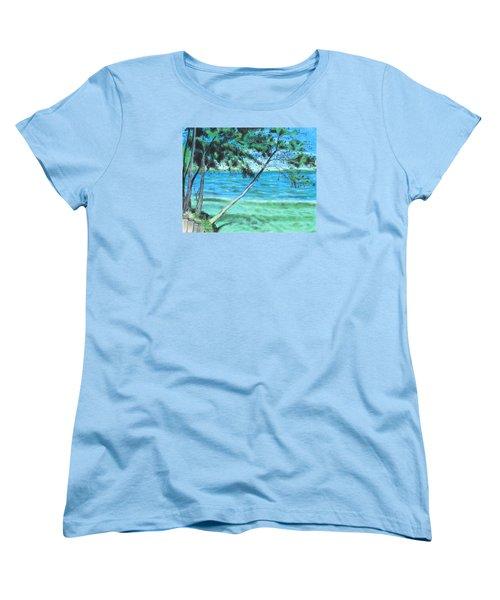 Lakeland 3 Women's T-Shirt (Standard Cut) by Jeanne Fischer