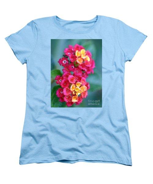 Women's T-Shirt (Standard Cut) featuring the photograph Lantana by Henrik Lehnerer