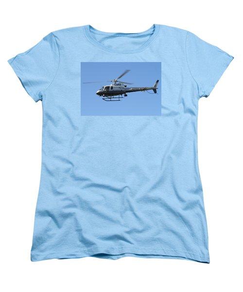 Lapd In Flight Women's T-Shirt (Standard Cut) by Shoal Hollingsworth