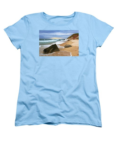 Last Light Before The Storm Women's T-Shirt (Standard Cut) by Roupen  Baker