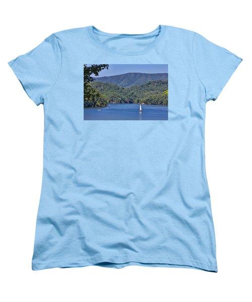 Late Summer Cruising  Women's T-Shirt (Standard Cut) by Tom Culver