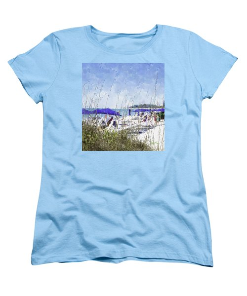 Late Winter Early Spring When Everybody Goes To Florida Women's T-Shirt (Standard Cut) by Susan Molnar
