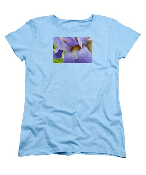 Women's T-Shirt (Standard Cut) featuring the photograph Lavish Iris by Julie Andel