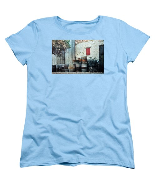 Women's T-Shirt (Standard Cut) featuring the photograph Lazy Afternoon At The Winery by Diane Alexander