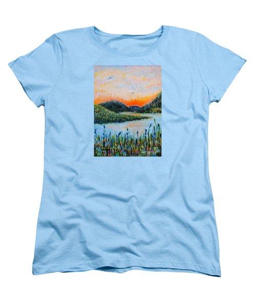 Lazy River Women's T-Shirt (Standard Cut)