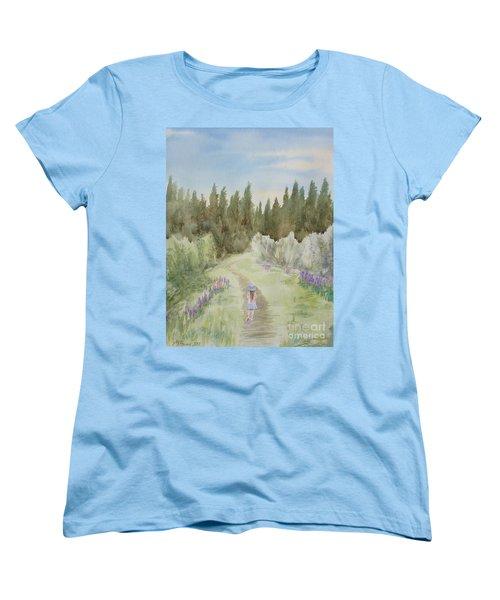 Leading The Way Women's T-Shirt (Standard Cut) by Martin Howard