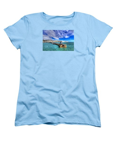 Leaving The Port Of Dover Women's T-Shirt (Standard Cut) by Tim Stanley