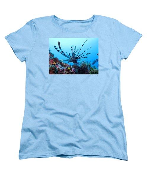Leon Fish Women's T-Shirt (Standard Cut) by Sergey Lukashin