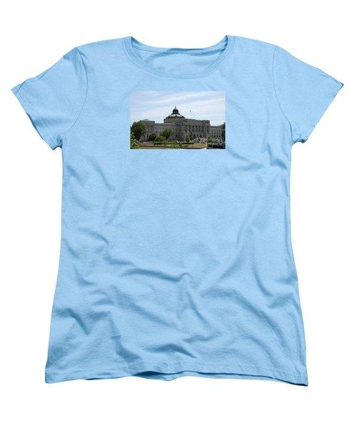 Library Of Congress  Women's T-Shirt (Standard Cut) by Christiane Schulze Art And Photography